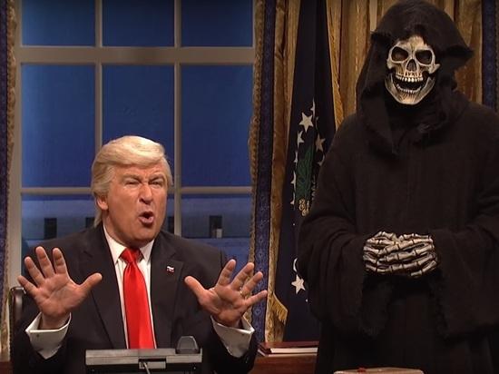 «Господин президент, наконец-то, вот ваша награда», - Алек Болдуин посвятил свою победу Трампу