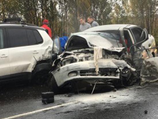 Главком ВДВ Сердюков попал в страшную аварию со смертельным исходом