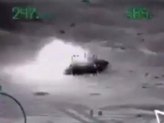 Боевики использовали танки и беспилотники