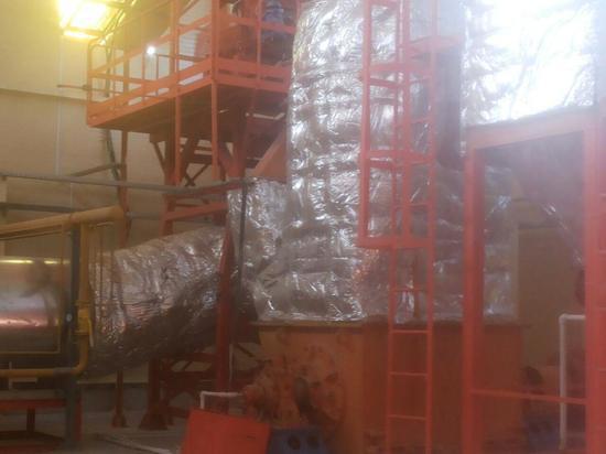 Завод по выпуску минерального порошка для производства асфальта открылся под Калугой