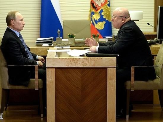 Губернатор Нижегородской области Валерий Шанцев отправлен в отставку