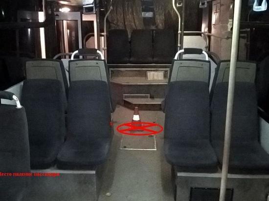 Подросток травмирован в салоне пассажирского автобуса в Калуге