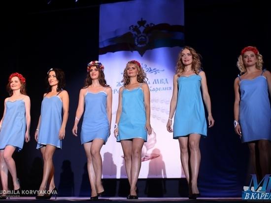 Участницы полицейского конкурса красоты в Карелии предпочли купальникам форменные