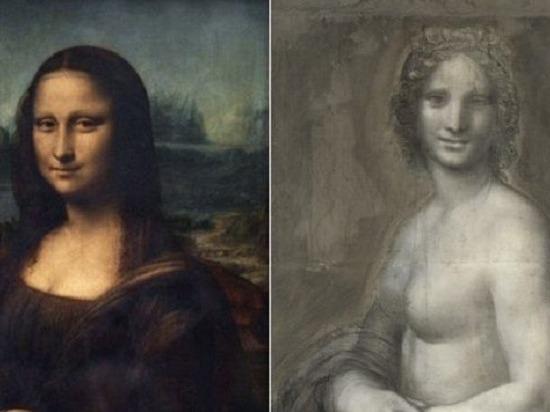 Найден эскиз обнаженной Моны Лизы руки Леонардо да Винчи