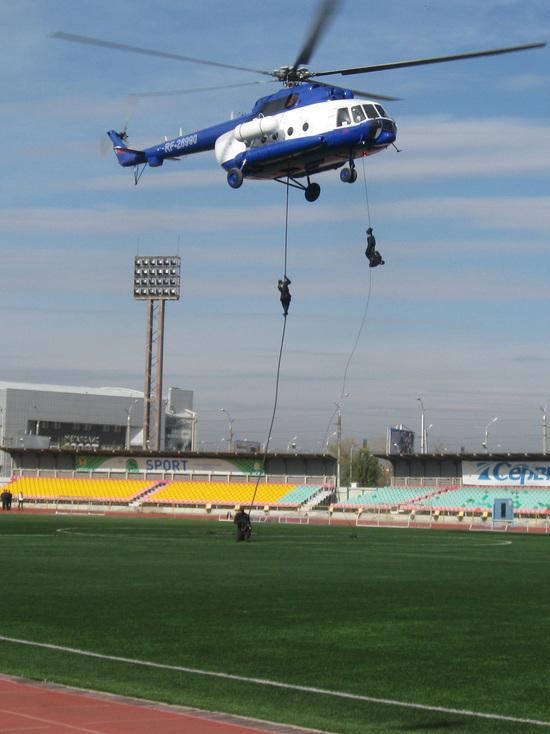 Полицейский праздник прошел в субботу на стадионе «Юность» в Чите