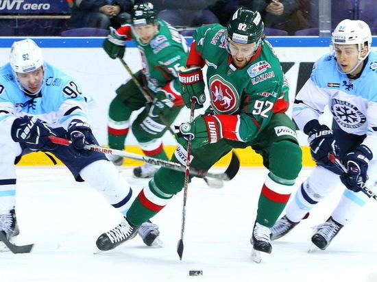 В КХЛ «Ак Барс» дома одержал волевую победу над «Сибирью» 3:2