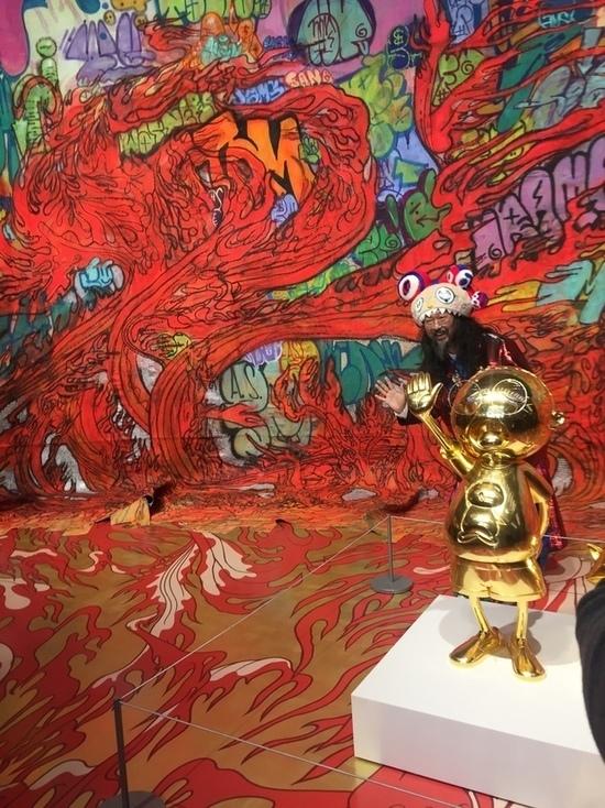Художник Такаси Мураками преобразил музей «Гараж» до неузнаваемости