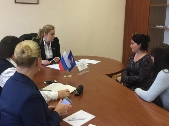 «Всероссийский день приема родителей» прошел в Вологодской области