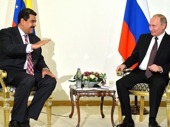 «Приедет денег просить»: Мадуро собрался на встречу с Путиным