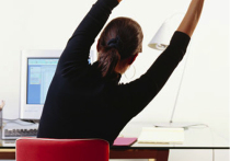 Работники офиса ходят в десять раз меньше
