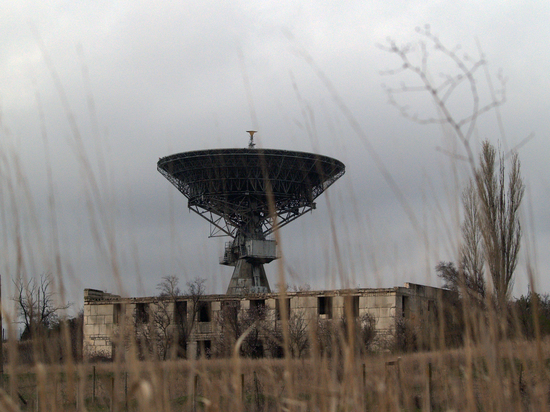 Из Крыма управляли первым в мире спутником