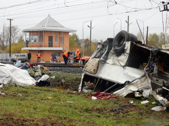 Очевидцы описали картину трагедии с автобусом на переезде