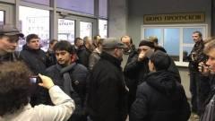 Рабочие Серпуховского лифтостроительного завода требуют приема в районной администрации