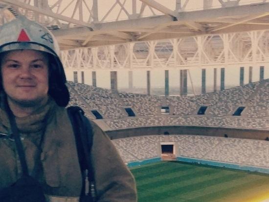 Пробный матч на «Стадионе Нижний Новгород» отложили после пожара