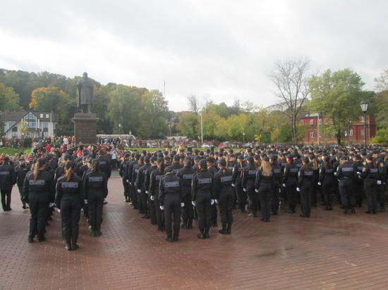 Студенты Смоленского филиала Юридического полицейского колледжа принесли клятву служения Родине