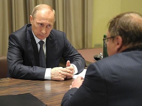 Путин может уволить глав Санкт-Петербурга, Калмыкии, Северной Осетии