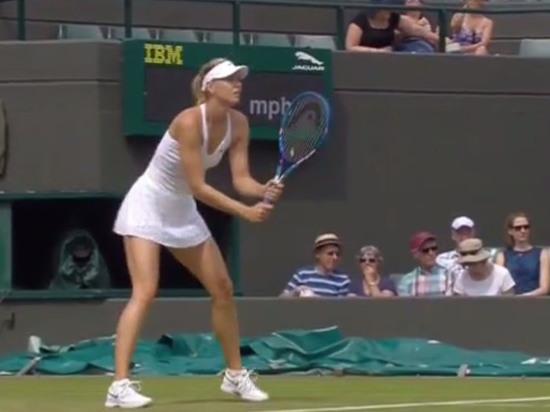 Матч первого круга российская теннисистка завершила в двух сетах