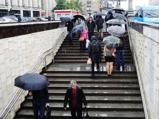 В ближайшие дни на Москву выльется половина месячной нормы осадков