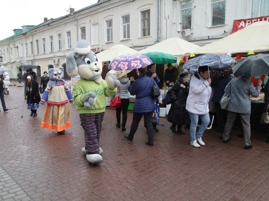 Фестиваль молока впервые прошел в Калуге