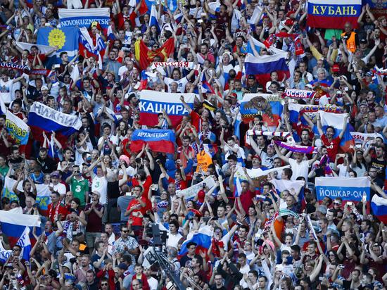 Сборная России обновила антирекорд, опустившись на 65-е место рейтинга ФИФА