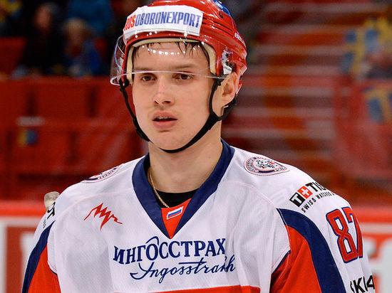 Российский нападающий игрой доволен
