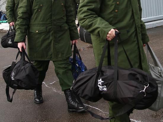 В российской армии снижается количество призывников