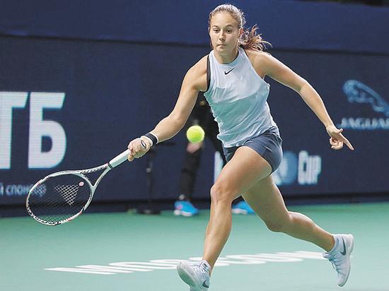 Новая звезда тенниса Дарья Касаткина болеет за