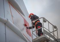 Казанскому Ту-144 вернули флаг СССР