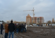 Новые объекты строительства на территории Серпуховского района осмотрел 24 октября глава района Александр Шестун