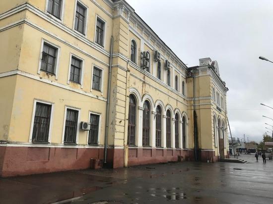 Вокзал в Серпухове постепенно приобретает цивильный вид