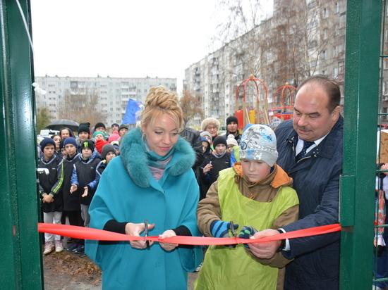 В микрорайоне «Фрунзенский» открыли безопасную игровую зону