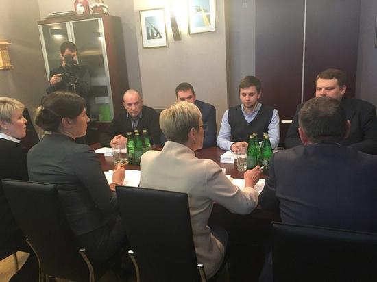 Молодые инноваторы Мурманской области встретились с Мариной Ковтун