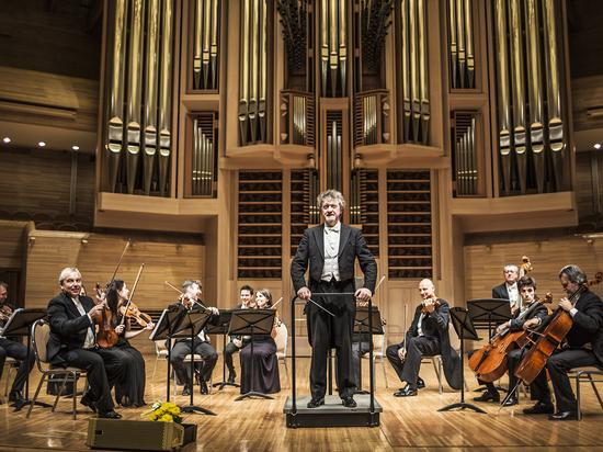 Камерный оркестр театра Джузеппе Верди скрестил классику с шутками