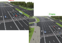 На Боровском шоссе вводится новая организация движения: добавится одна полоса