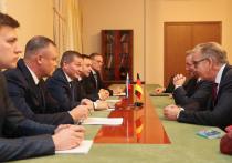Андрей Бочаров  встретился с главой Германо-Российского форума Маттиасом Платцеком