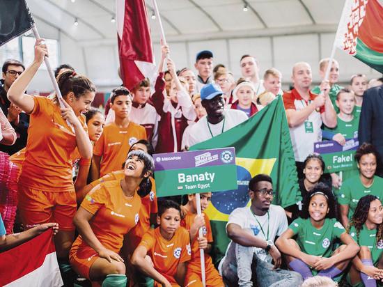 В Москве прошел футбольный турнир  «Будущее зависит от тебя»