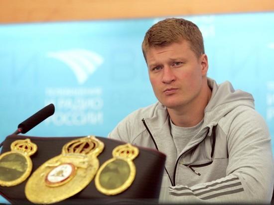Поветкин встретится с румынским боксером Хаммером 15 декабря