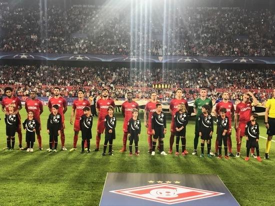 «Спартак» потерпел первое поражение в Лиге чемпионов с 2012 года