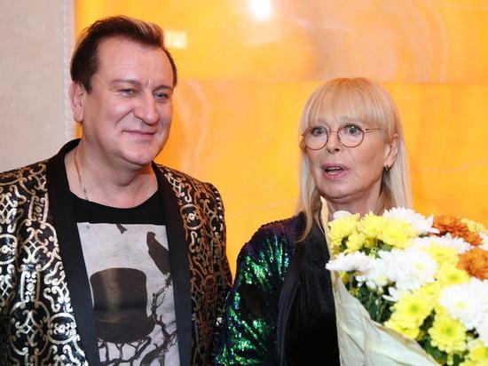 На юбилее Воропаевой спел Женя Белоусов