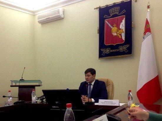 В Вологде состоялась очередная пресс-конференция с участием Сергея Воропанова
