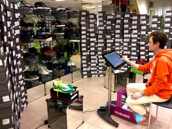 Первые ласточки цифровой экономики: онлайн-примерочные обуви заработали в России