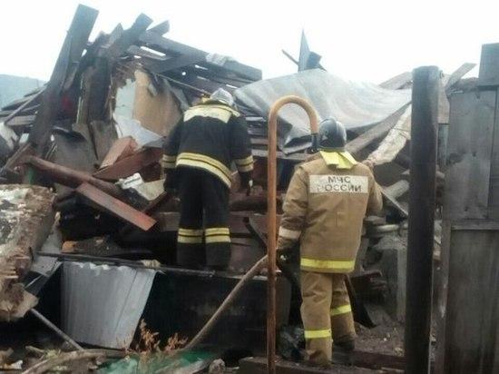 Семья из четырех человек пострадала в результате взрыва газа в Алтайском крае