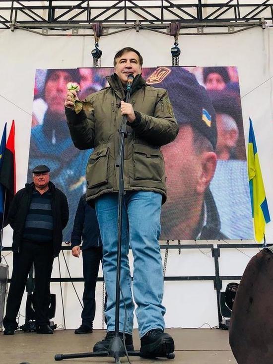 Бывший президент Грузии придумал новый план захвата украинской власти