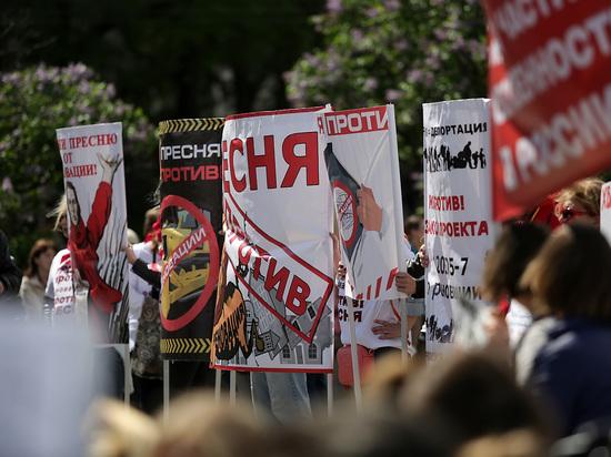 Количество митингов выросло почти на две трети