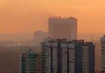 При пожаре в здании СВР пропали люди