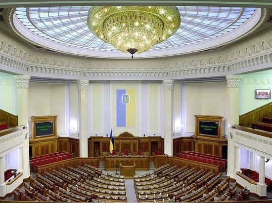"""Украинские депутаты на следующей неделе рассмотрят законопроект """"О реинтеграции Донбасса"""""""