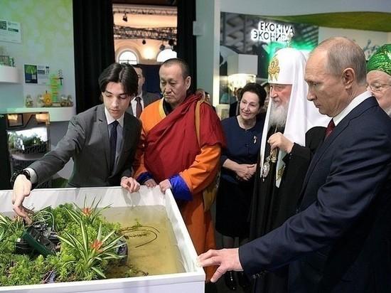 Ученые из Мичуринска представили президенту России свои последние разработки