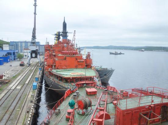«Атомфлот» прорабатывает возможность создания ледокола на газу