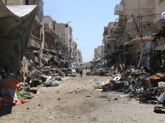 Армия САР прочесывает город, очищая жилые кварталы от взрывных устройств