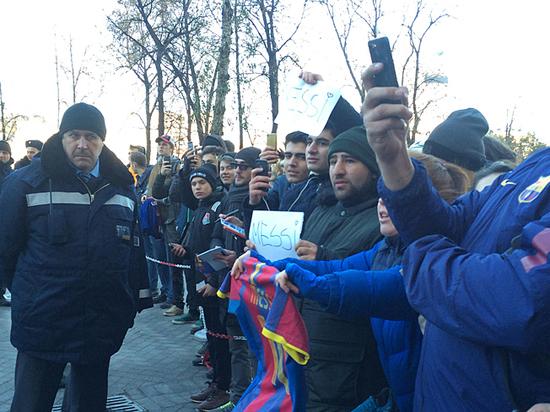 Охота на Месси: в Москве звездному аргентинцу пришлось несладко